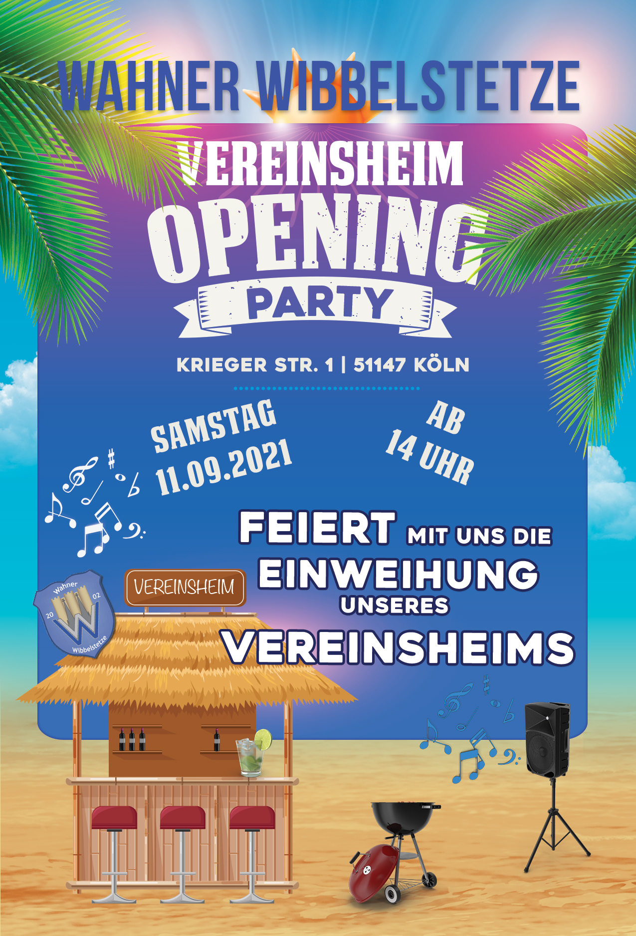 3WW Summer Party Flyer
